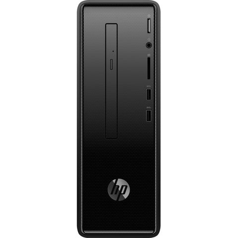 HP Inc. HP Slimline 290-a0000 290-a0049 Desktop Computer - Intel Celeron J4005 2 GHz - 8 GB DDR4 SDRAM - 1 TB HDD - Windows 10 Home 64-bit - Tower