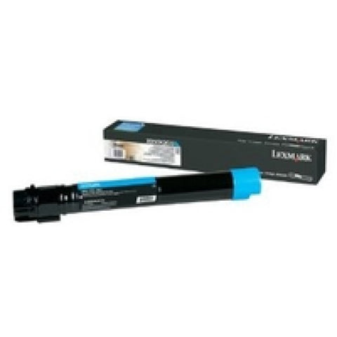 Lexmark XS955dhe High Yield Cyan Toner Cartridge (22000 Yield)
