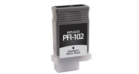 Dataproducts Compatible Matte Black Ink Cartridge for Canon PFI-102