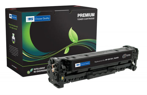 MSE Extended Yield Black Toner Cartridge for HP CE410X (HP 305X)