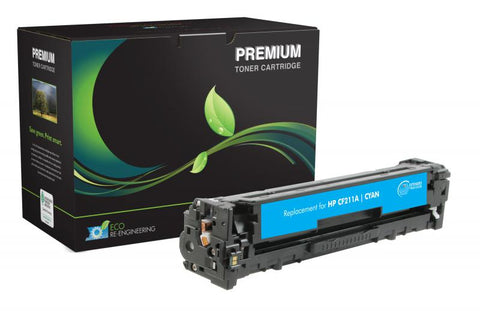 MSE Extended Yield Cyan Toner Cartridge for HP CF211A (HP 131A)