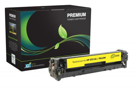 MSE Extended Yield Yellow Toner Cartridge for HP CF212A (HP 131A)