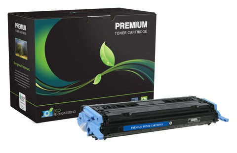 MSE Black Toner Cartridge for HP Q6000A (HP 124A)
