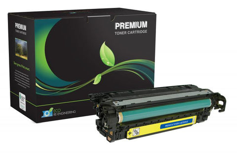 MSE Yellow Toner Cartridge for HP CE252A (HP 504A)