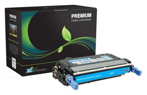 MSE Cyan Toner Cartridge for HP Q5951A (HP 643A)