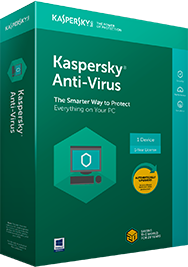 KASPERSKY Kaspersky Anti Virus 3 PC 1 Year