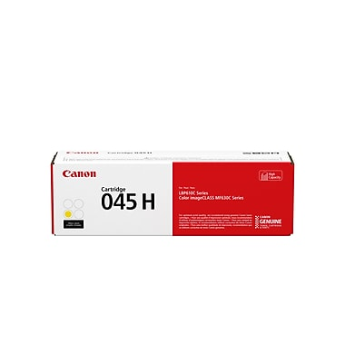 Canon Cartridge 045 Hi-Capacity Yellow - Full Yield Cartridge; 2,200 Sheets ISO/IEC 1243C001