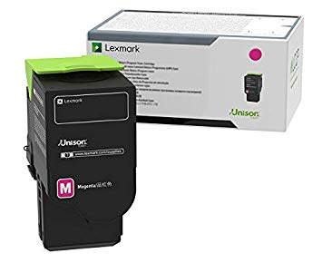 Lexmark International, Inc C231HM0 Magenta High-Yield Return Program Toner Cartridge