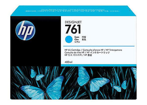HP HP 761 (CM994A) Cyan Original Ink Cartridge (400 ml)