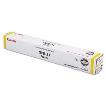 Canon, Inc (GPR-31) (Y) Yellow Toner Cartridge (27000 Yield)
