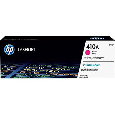 HP 410A (CF413A) Color LaserJet Pro M452 MFP M477 Magenta Original LaserJet Toner Cartridge (2300 Yield)