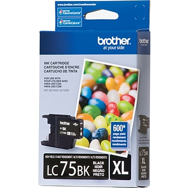 Brother HIGHYIELD INK CARTRIDGE,BK,Compatible models: DCP-J525W, DCP-J725DW, DCP