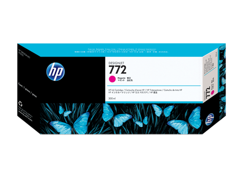 HP 772 (CN629A) Magenta Original Ink Cartridge (300 ml)