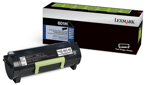 Lexmark (601H) MX310 MX410 MX510 MX511 MX610 MX611 High Yield Return Program Toner Cartridge (10000 Yield)