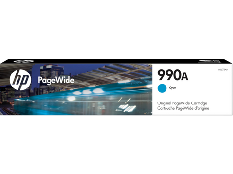 HP 990A (M0J73AN) Cyan Original PageWide Cartridge (10000 Yield)