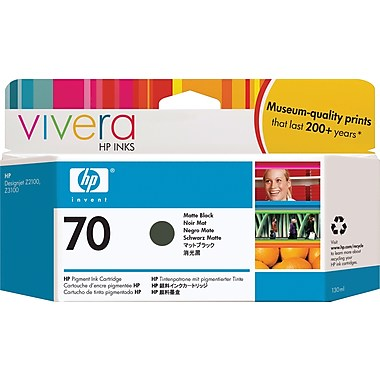 HP  70 MATTE BLACK 130 ML INK CARTRIDGE USE IN SELECTED  DESIGN