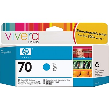 HP  70 CYAN 130 ML INK CARTRIDGE USE IN SELECTED  DESIGNJET PRI