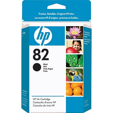 HP 82 (CH565A) Black Original Ink Cartridge (69 ml)