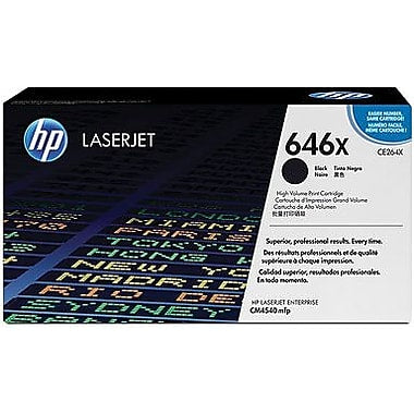 HP 646X (CE264X) Color LaserJet CM4540 MFP High Yield Black Original LaserJet Toner Cartridge (17000 Yield)
