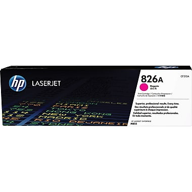 HP 826A (CF313A) Color LaserJet Enterprise M855 Magenta Original LaserJet Toner Cartridge (31500 Yield)