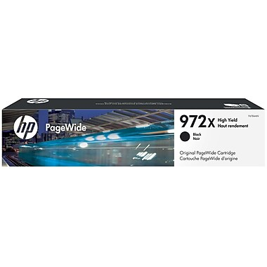 HP 972X (F6T84AN) PageWide Pro 452 477 552 577 High Yield Black Original PageWide Cartridge (10000 Yield)