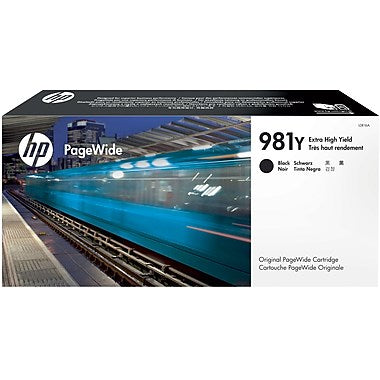 HP 981Y (L0R16A) EXTRA HIGH YIELD BLACK ORIGINAL PAGEWIDE CARTRI