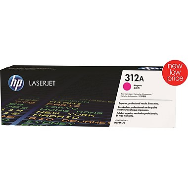HP 312A (CF383A) Color LaserJet Pro MFP M476 Magenta Original LaserJet Toner Cartridge (2700 Yield)