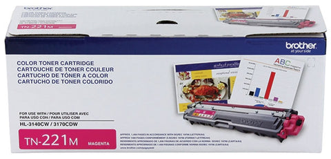 Brother HL-3140CW 3170CDW 3180CDW MFC-9130CW 9330CDW 9340CDW Magenta Toner Cartridge (1400 Yield)