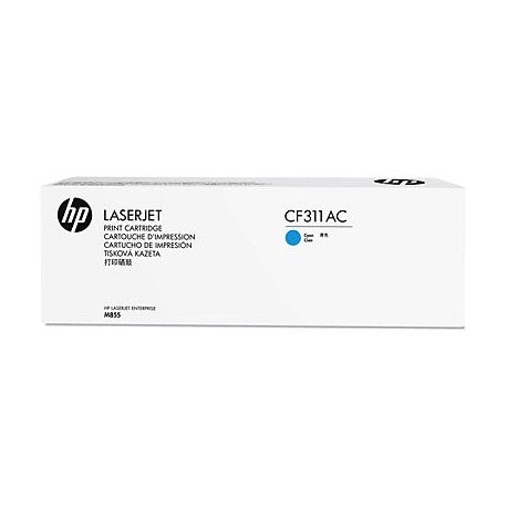 HP CF311AC Cyan 31,500  Yield Contracted Toner