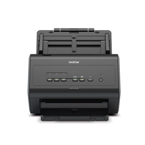 "Brother Workhorse ImageCenter ADS-2400N Sheetfed Desktop Scanner (30 ppm) (8.5"" x 196"") (600 dpi) (Duplex) (USB) (Ethernet) (50 Sheet ADF)"