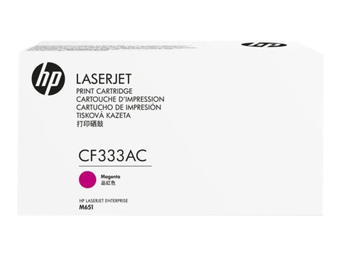 HP CF333AC Magenta 15,000 Yield Contracted Toner