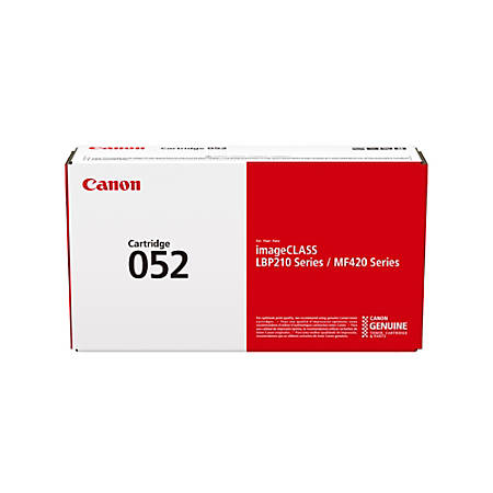 Canon 052 Compatible Black Toner Cartridge (2199C001)