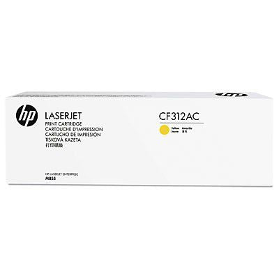 HP CF312AC Yellow 31,500 Yield Contracted Toner