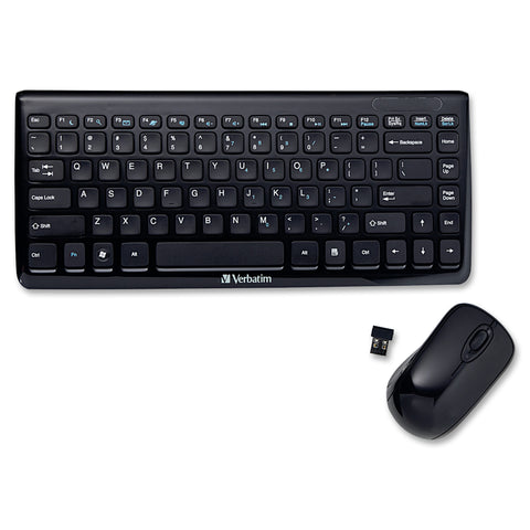 Verbatim America, LLC Mini Wireless Slim Keyboard and Mouse