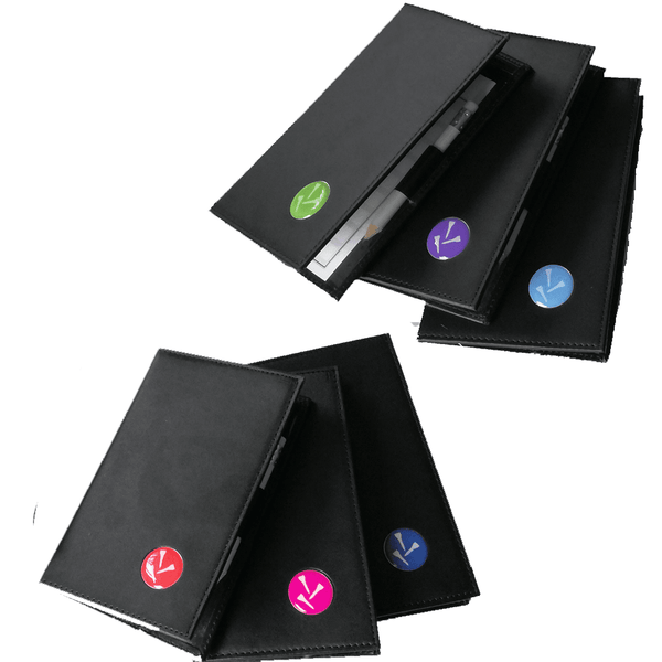Three Tee Scorecard Holder - Golf Gifts UK - Golf wrapped up
