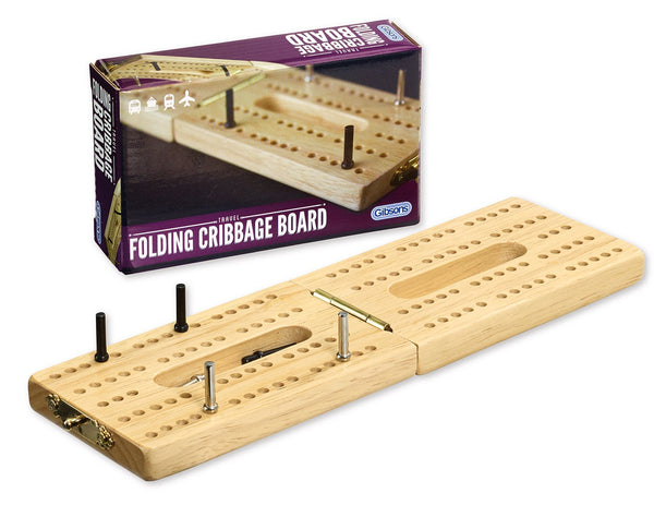 Folding Cribbage Board - Golf Gifts UK - Golf wrapped up