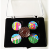 Art of Golf Ball Markers and Visor Clip - Golf Gifts UK - Golf wrapped up