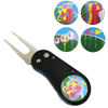 Art of Golf Divot Tool and Ball Marker (black) - Golf Gifts UK - Golf wrapped up