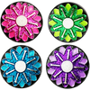 Sparkly Ball Markers in Presentation sleeve - Golf Gifts UK - Golf wrapped up