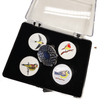 Birdie Ball Markers and Visor Clip - Golf Gifts UK - Golf wrapped up