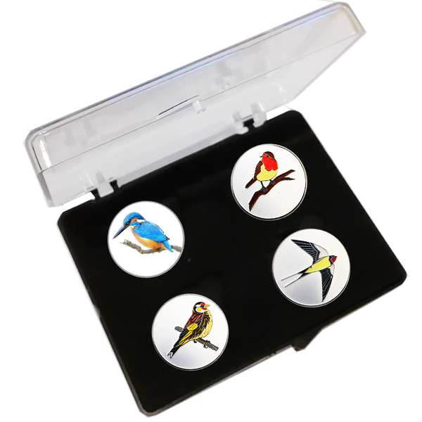 Birdie Ball Marker Set - Golf Gifts UK - Golf wrapped up