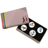 Birdie Ball Markers in Presentation Sleeve - Golf Gifts UK - Golf wrapped up