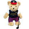 Personalised Golfing Teddy Bear (boy) - Golf Gifts UK - Golf wrapped up