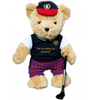 Tell Me When It's Tee Time Golfing Teddy Bear - boy - Golf Gifts UK - Golf wrapped up