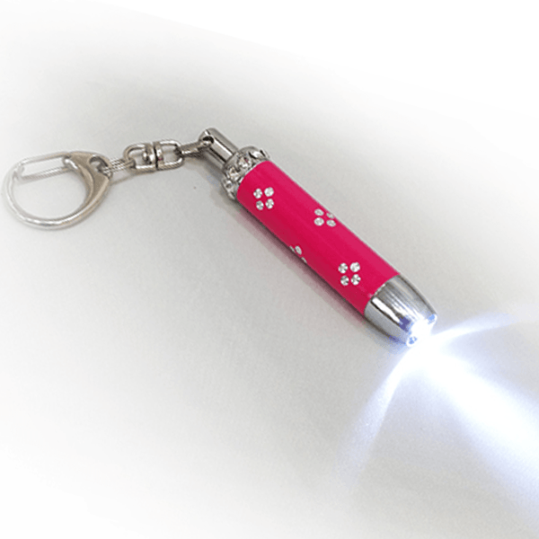 Crystal Torch and Keyring - Golf Gifts UK - Golf wrapped up
