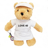 Love 40 Birthday Tennis Bear - Girl - Golf Gifts UK - Golf wrapped up