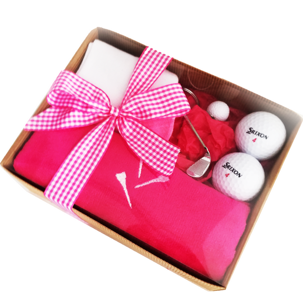 Golfing Girl's Gift Box - Golf Gifts UK - Golf wrapped up