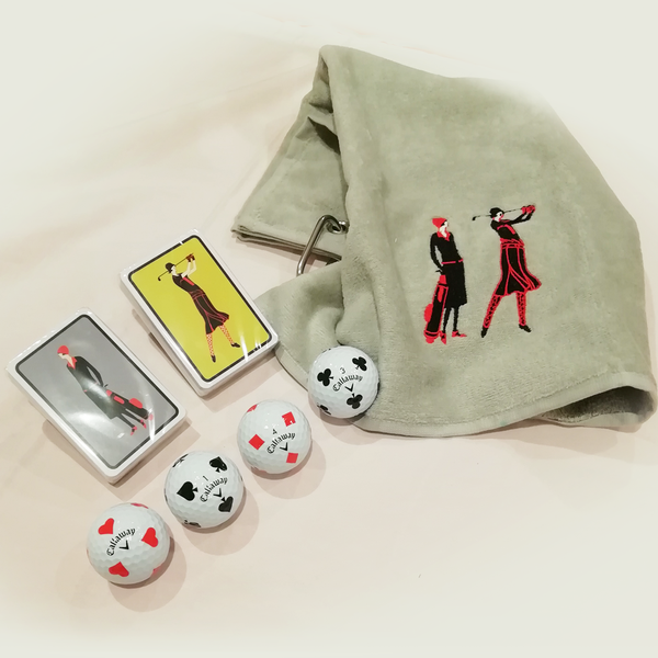 Golf and Bridge Gift Set - Golf Gifts UK - Golf wrapped up