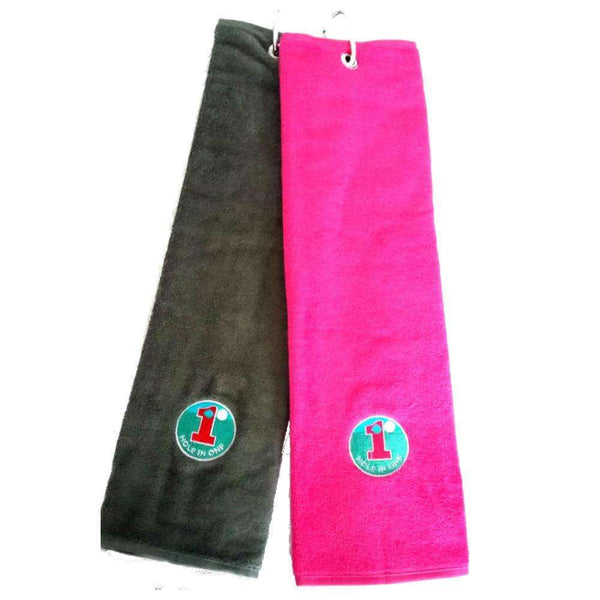 Hole In One Towel - Golf Gifts UK - Golf wrapped up
