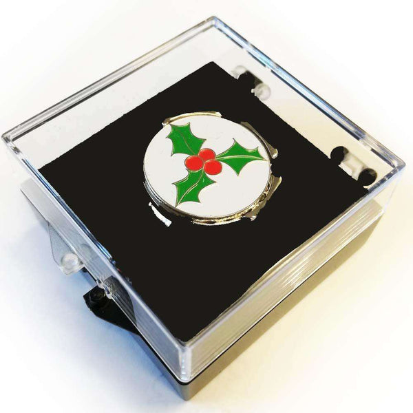Holly Ball Marker & Visor Clip - Golf Gifts UK - Golf wrapped up